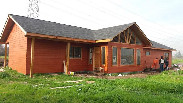 51 casas prefabricadas precios y fotos casa de - Fotos casas de madera prefabricadas ...