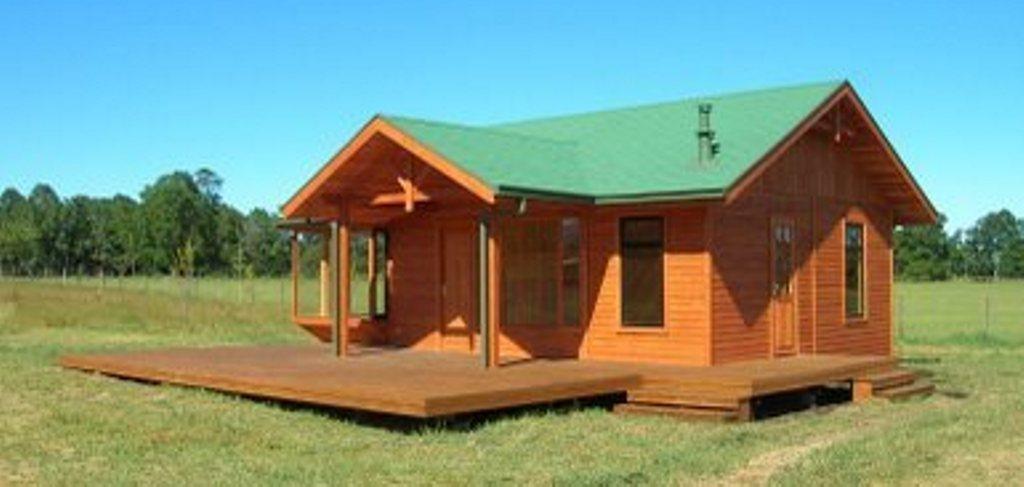Casa prefabricada laja 74 m2 casas prefabricadas for Casas de hormigon precios y fotos