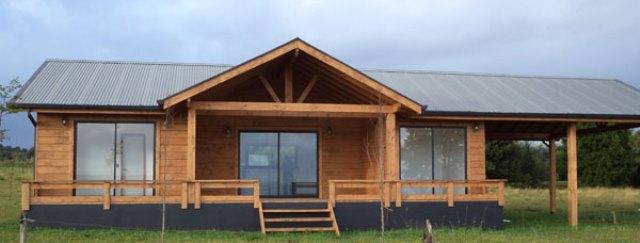 Casa prefabricada futrono 70 m2 casas prefabricadas for Modelos casas prefabricadas