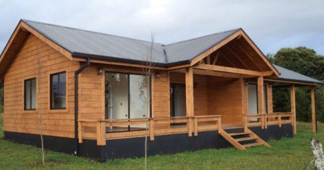 Casa prefabricada futrono 70 m2 casas prefabricadas for Costo casa prefabricada
