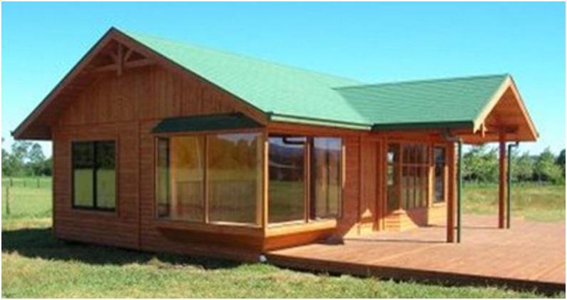 Casa prefabricada laja 74 m2 casas prefabricadas - Precio de una casa prefabricada ...